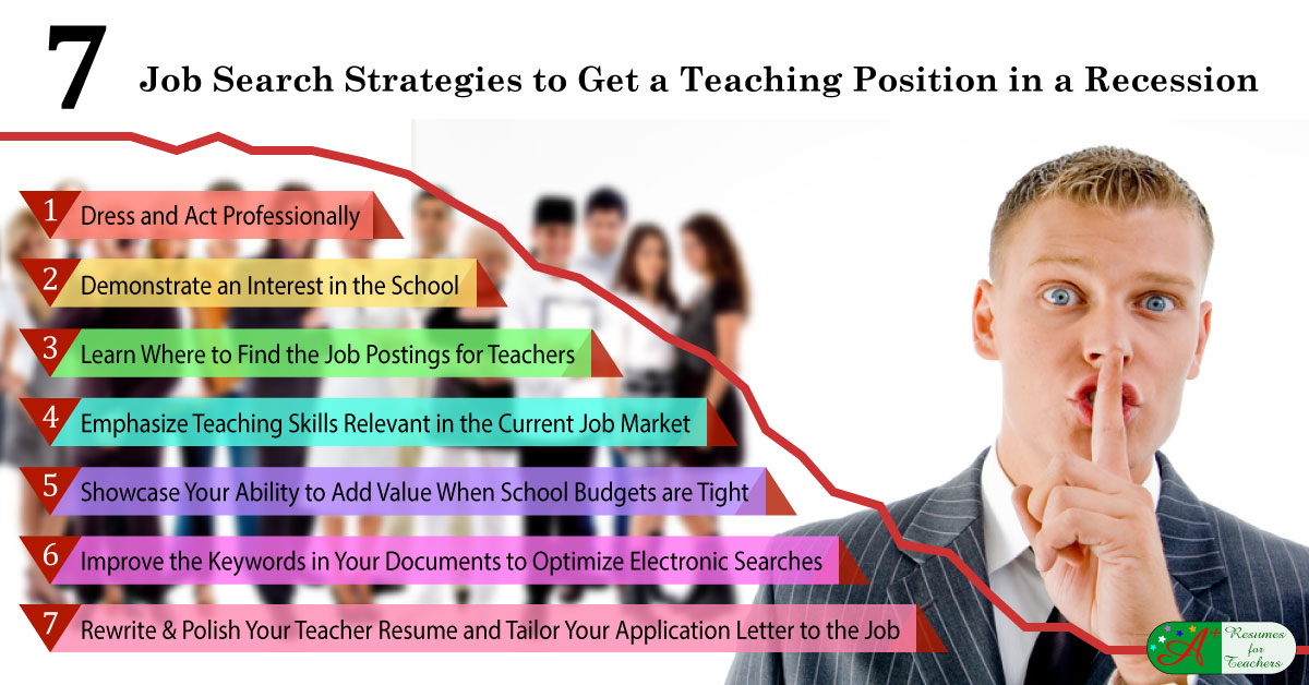 7 Job Search Strategies To Get A Teaching Position In A