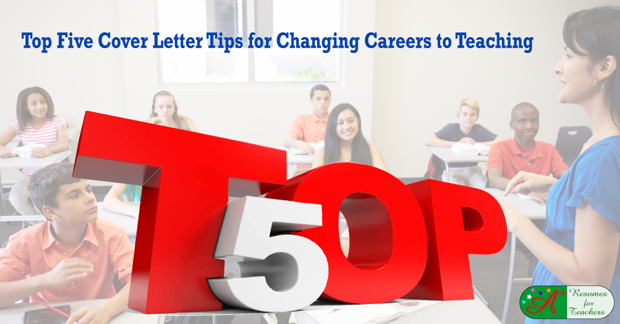 cover letter for career change into teaching The career change resume can be tricky to draft read tips from top coach  put  some effort into writing a compelling cover letter the cover letter is your first.