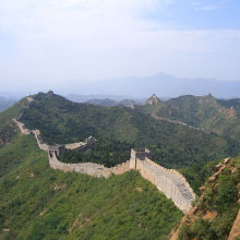 Great Wall of China in Beijing China Asia