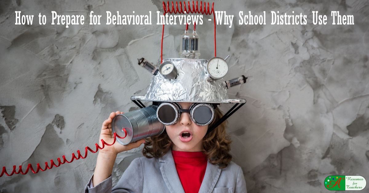 how to prepare for teachers u0026 39  behavioral interview questions