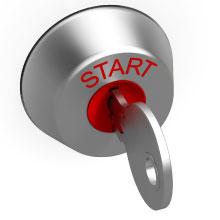 Ignition start key