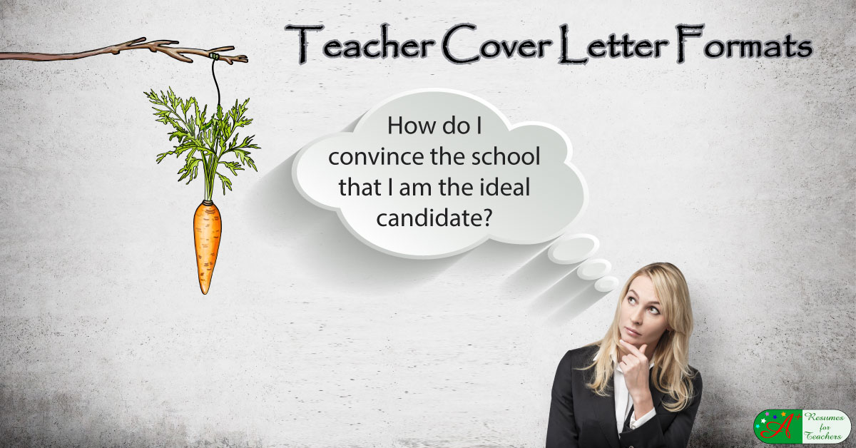 Teacher Cover Letter Format – How to Convince the School You are ...
