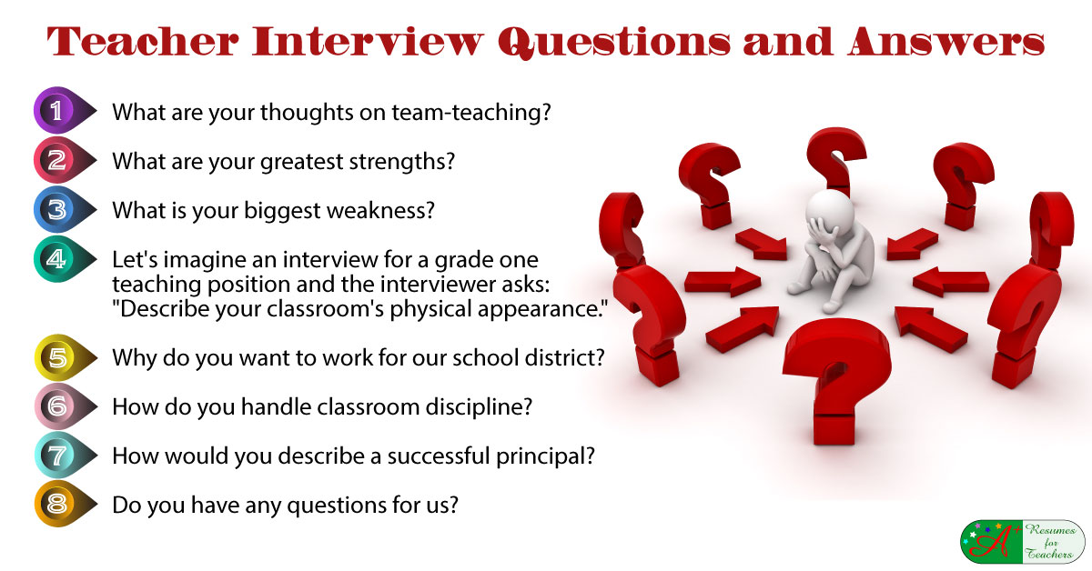 teacher interview questions answers fjpg - How To Have A Good Interview Tips For A Good Interview