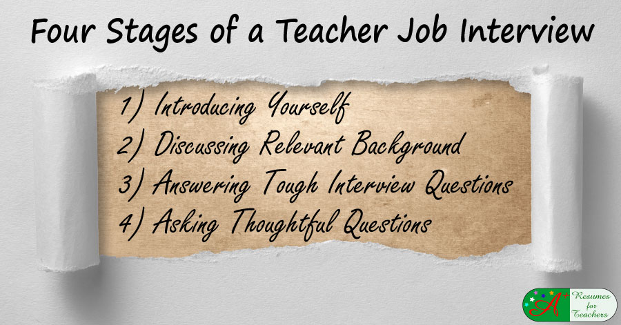 Four Stages of a Teacher Job Interview