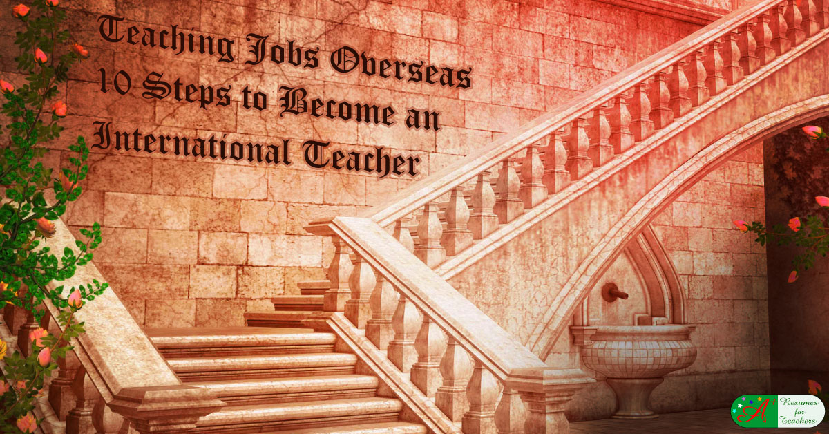10 Steps to Become an International Teacher