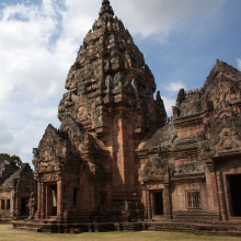 Thailand's Ta Pek temple complex