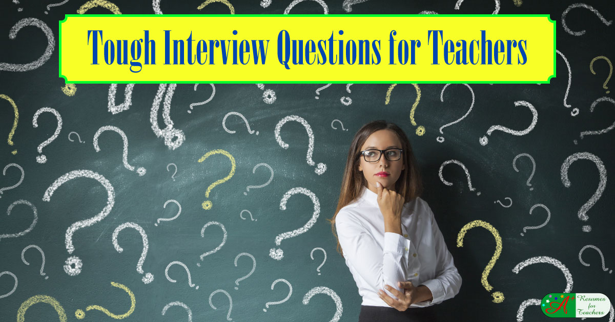 tough interview questions for teachers