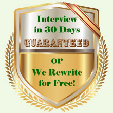 Resume Writing Guarantee
