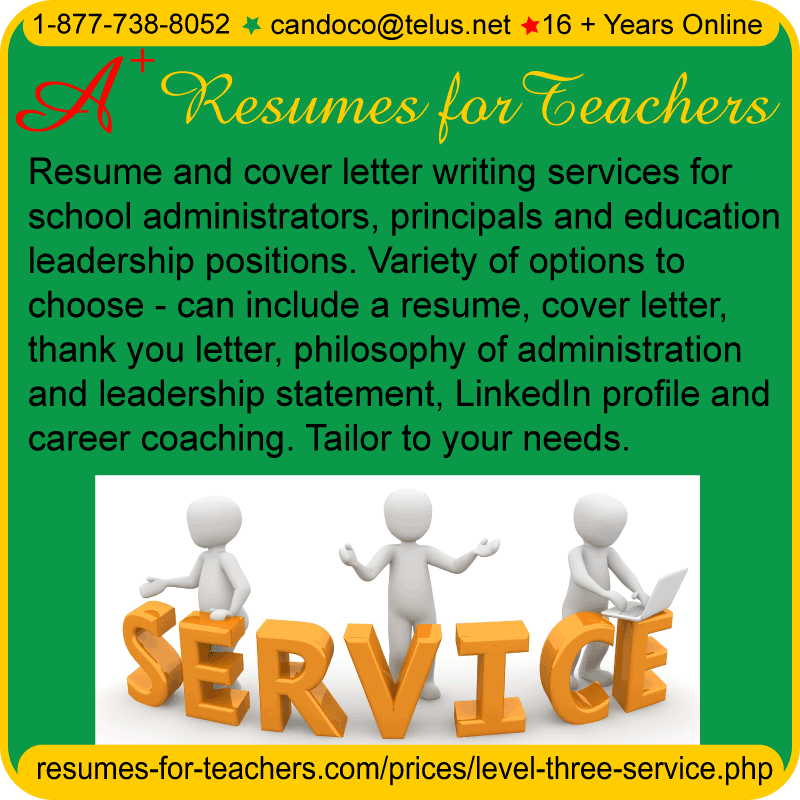 Cv writing service teachers